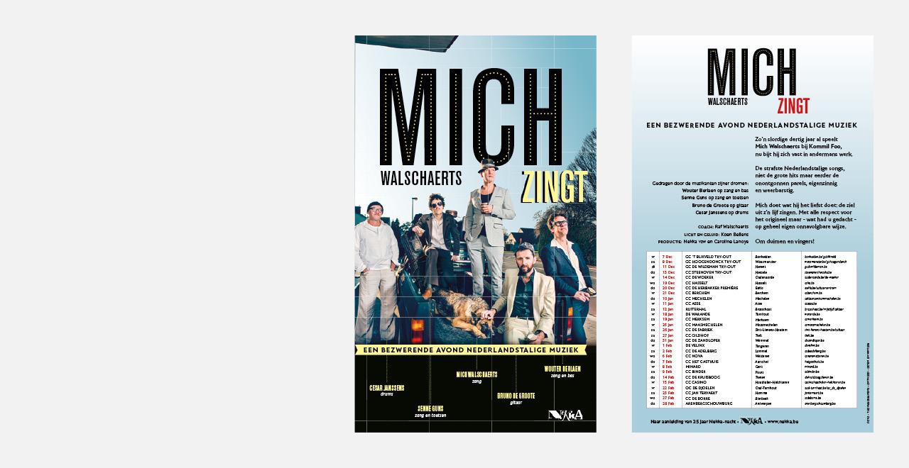Campaign design 'MICH' Kommilfoo