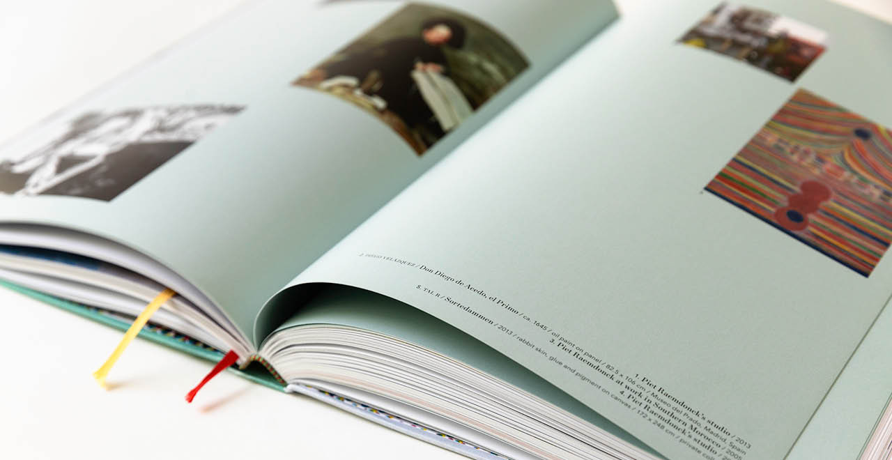 Book design for Piet Raemdonck's 'What I've seen and what I've dreamt'