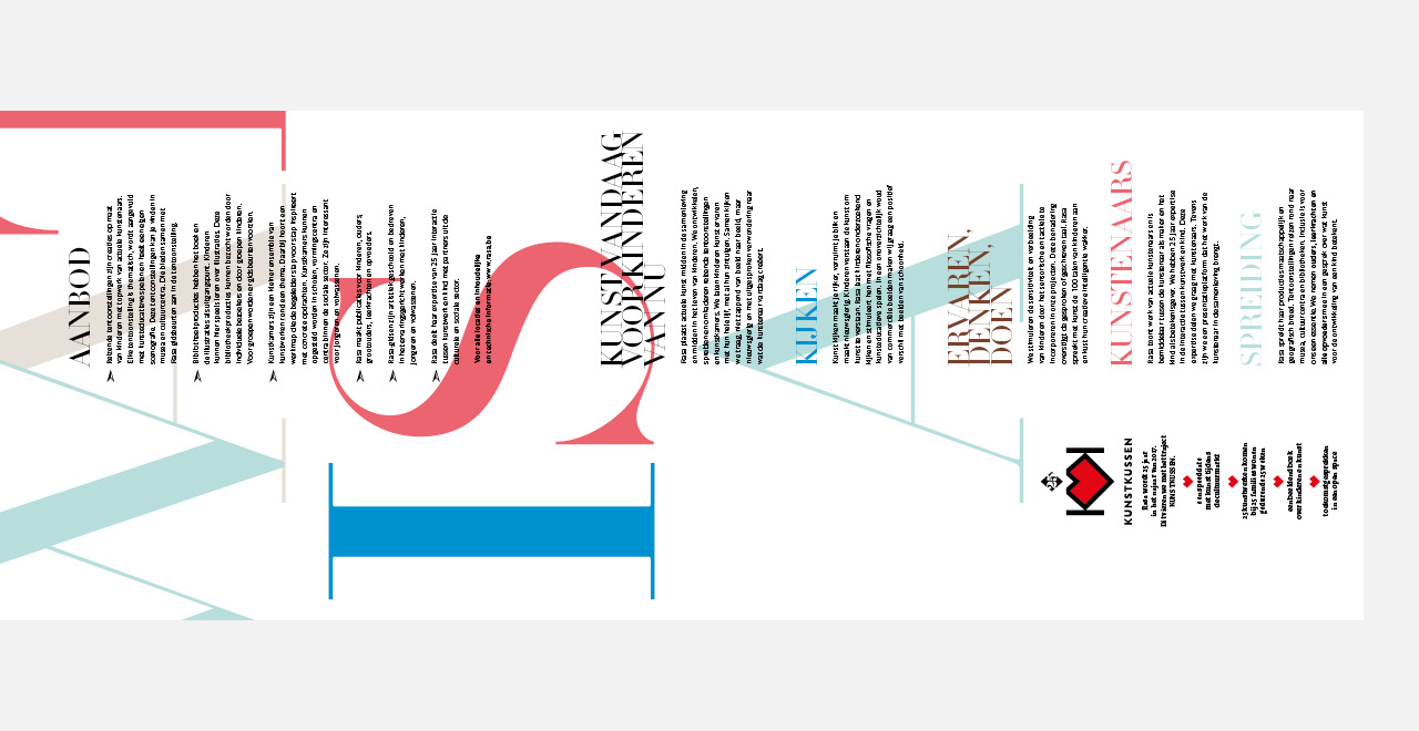 Campaign design and brochure 'Huid' an exhibition by Rasa