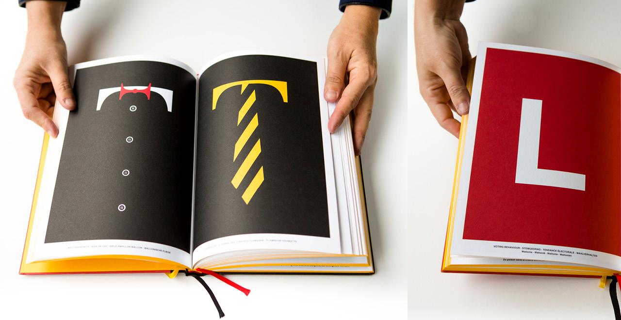 Pages out of Belgium Xtra Bold, a book by Sanny Winters about Belgium